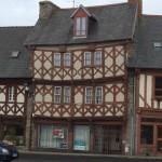 Die schiefen Häuser von Le Tréguier