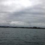grau liegt der Himmel über Nordfrankreich