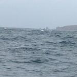 Die Wellen sehen auf den Fotos immer kleiner aus