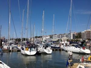 Der Hafen von Boulogne