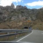 Steinig sind die Berge in Nordspanien