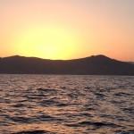 Der erste Lichtschein über Cabo Prior
