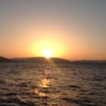 Und der Sonnenaufgang über Punta Labodoira