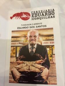 Eduardio, der Gründer des Restaurants