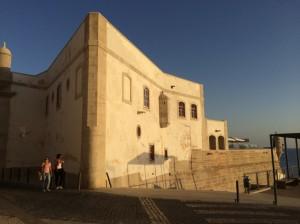 Das schön restaurierte Fort von Sesimbra