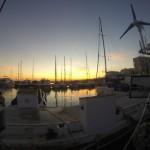 Sonnenuntergang in Estepona