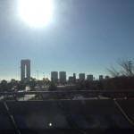 Die futuristische Skyline von Benidorm
