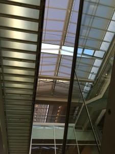 Nur ein Eindruck aus dem Inneren des Gebäudes von Norman Foster