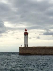 Der Leuchtturm von Almería
