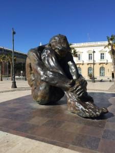 Eine beeindruckende Statue für die Leidenden des Bürgerkriegs