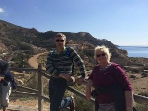 Kirsten und Birger aus Potsdam zu Besuch