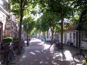 Die Dorpsstraat in Oost-Vlieland, Idylle pur