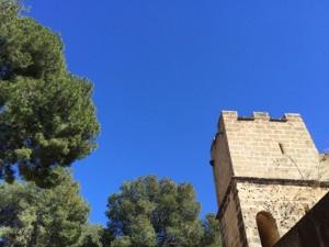 So blau ist der Himmel heute