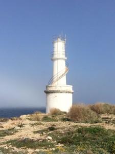 Der Leuchtturm ist nicht mehr in Betrieb