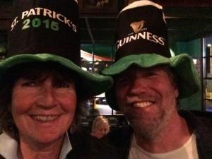 St. Patrick's mit Hut