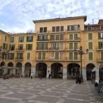 Ein schöner Platz im historischen Zentrum von Mallorca