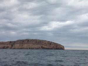 Das nördliche Ende von Ibiza