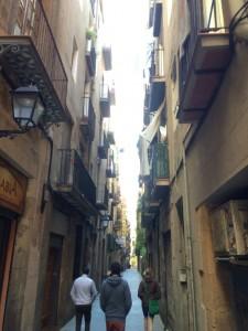 In der Altstadt sind die Gassen eng