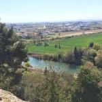 Der großartige Blick vom Hügel dieser mittelalterlichen Stadt hat bestimmt bei der Verteidigung geholfen