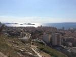 … aber man wird mit einem großartigen Ausblick belohnt, 360° Rundumsicht über die Bucht und das Hinterland