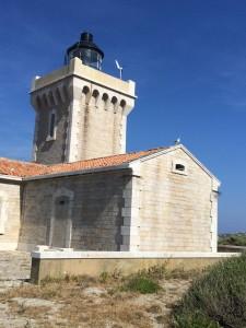 Der Leuchtturm auf der Île du Grand Rouveau