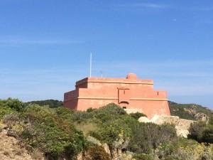 Das alte Fort aus Richelieus Zeiten