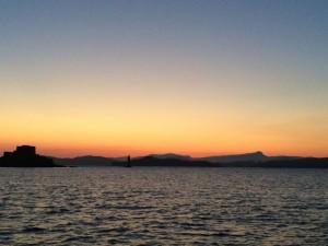 Sonnenuntergang vom Feinsten