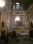 Ein Altar in der Kirche von Nizza