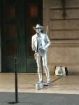 Ein Cowboy vor l'Opéra