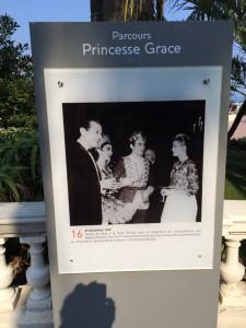 Grace Kelly, oder Fürstin Gracia Patricia ist omnipräsent