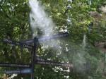 Alle Schwesterstädte sind im Parfümgarten aufgezählt, und alle fünf Minuten wird dort ein Duft ausgeströmt