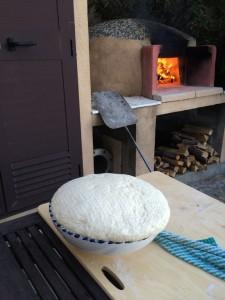 Der Teig ist gegangen und der Ofen ist bereit
