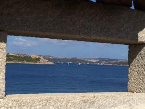 Die Segelschule segelt die Freitags-Abschluss-Regatta