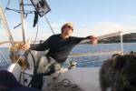 zufriedener Skipper