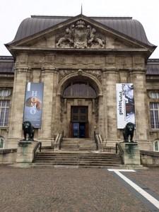 Der Eingang zum Landesmuseum