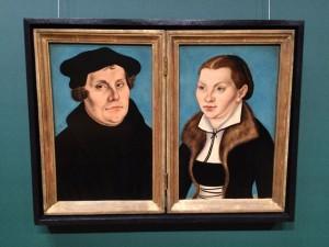 Martin Luther und seine Ehefrau Margarete