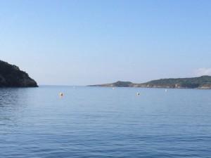 Adieu, Port Cros, flache See!