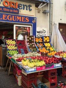 Orientalischer Gemüseladen in Marseille
