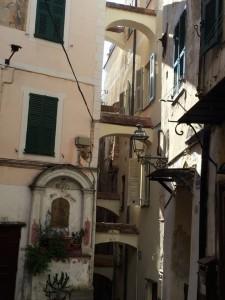 Die Altstadt von San Remo