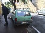 """Einer der vielen """"Fiat Unos"""" im Stadtbild"""