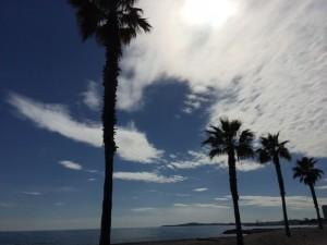 Die Wolken weichen der Sonne