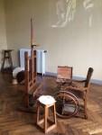 Atelier mit Rollstuhl
