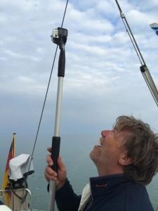Kein Selfie, die Kamera soll Unterwasserbilder liefern