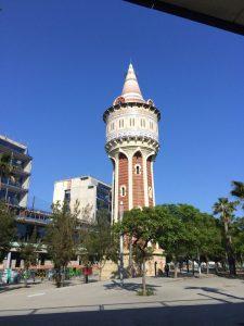 Wasserturm in Barceloneta