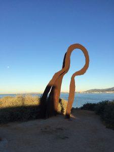 Kunst an der Cala Gamba
