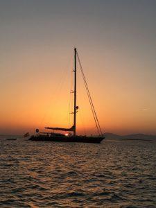Sonnenuntergang an Europas schönstem Strand