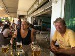 im Chiringuito, der Strandbar