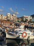 """""""Menorquins"""" heißen die kleinen Fischerboote"""