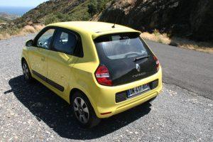 Der kleine gelbe Twingo