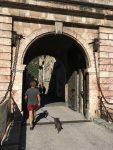 Eingang nach Villefranche